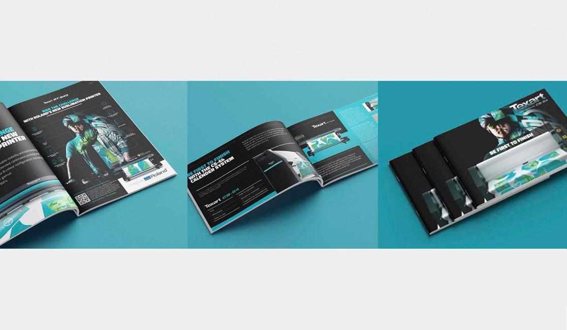 Realizzazione comunicazione visiva per Roland DG EMEA | Hammer ADV
