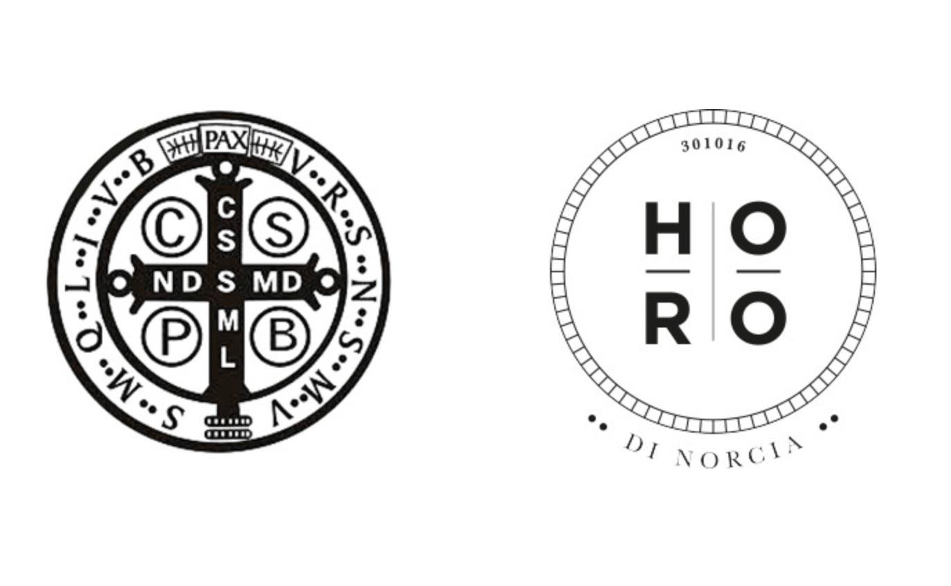 Realizzazione immagine coordinata per Horo di Norcia | Hammer ADV | Marchio
