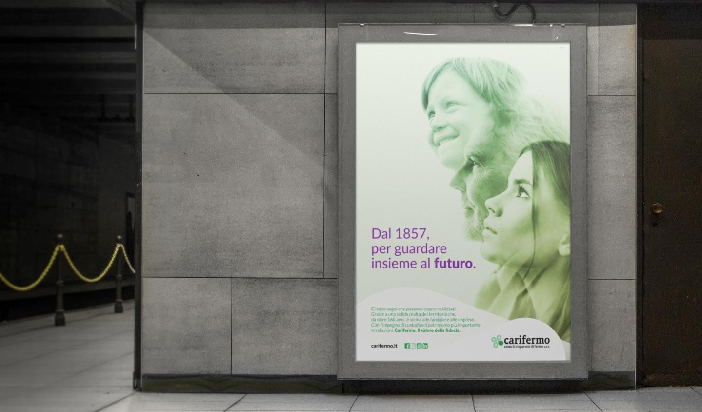 Realizzazione campagne pubblicitarie per Carifermo   Hammer ADV